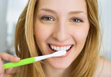 Brushing with braces
